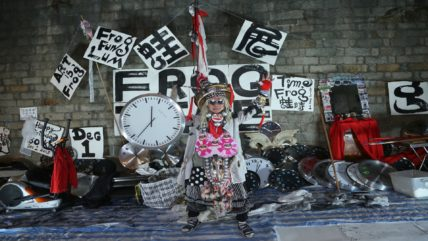 10 Chancery Lane Gallery - Frog King's Opening Gallery Performance
