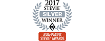 2017 stevie awards silver winner - Asia Pacific Stevie Awards 2017