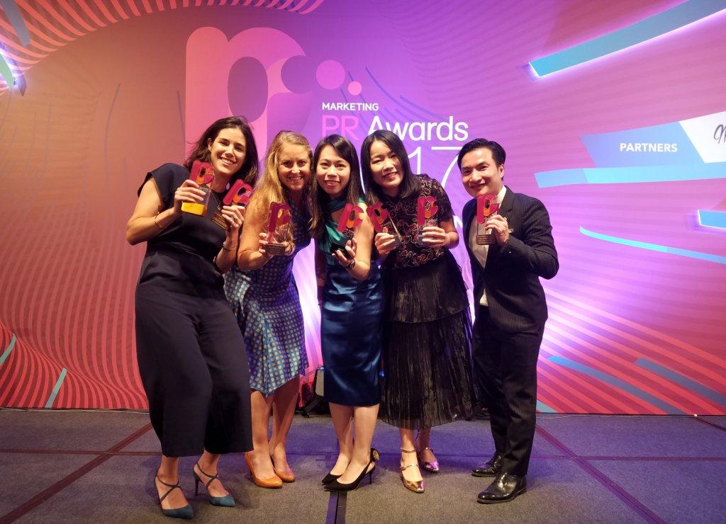 PR Awards 2017 team
