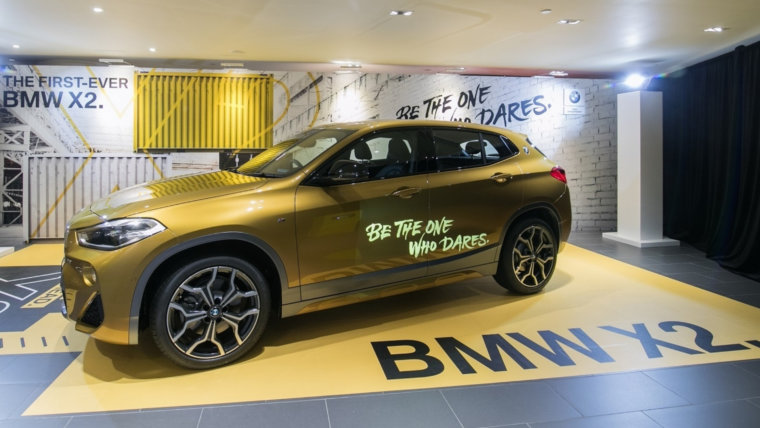BMW X2 launch in Hong Kong