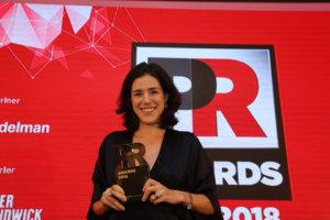Rosanna Herries PR Awards Asia 2018
