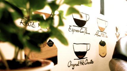 Coffee Academy wall