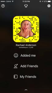 Snapchat Rachael Anderson