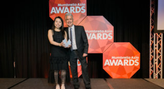 Mumbrella Asia Awards Holly Chan