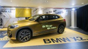 BMW X2 launch in Hong Kong