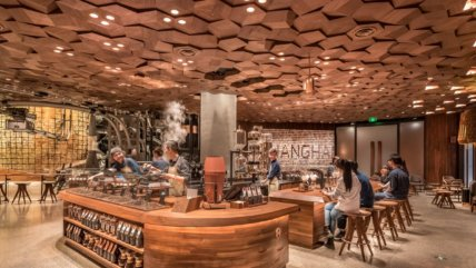 hy Starbucks in China is the example other internationals need to look to - Starbucks Roastery Shanghai