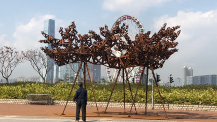Harbour Arts Sculpture Park 2018 Hong Kong - public engagement