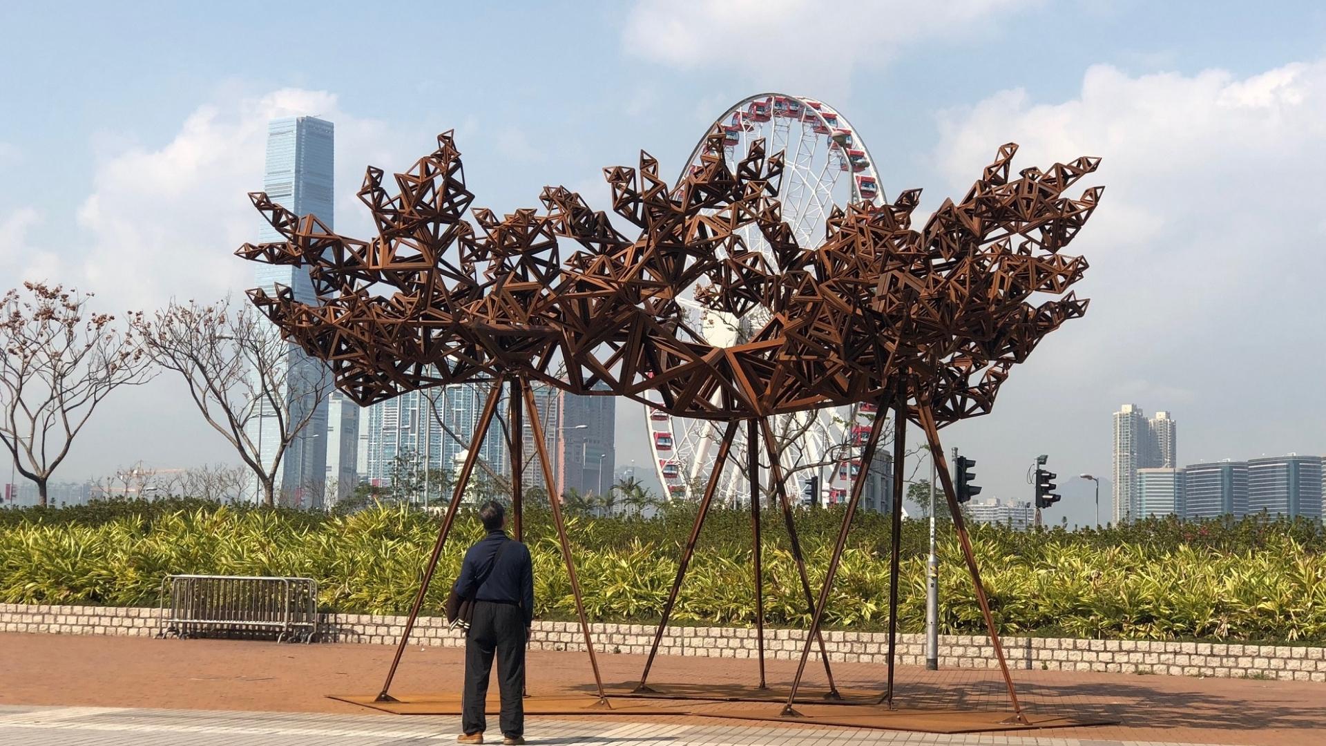 Harbour Arts Sculpture Park 2018 Hong Kong - public engagement