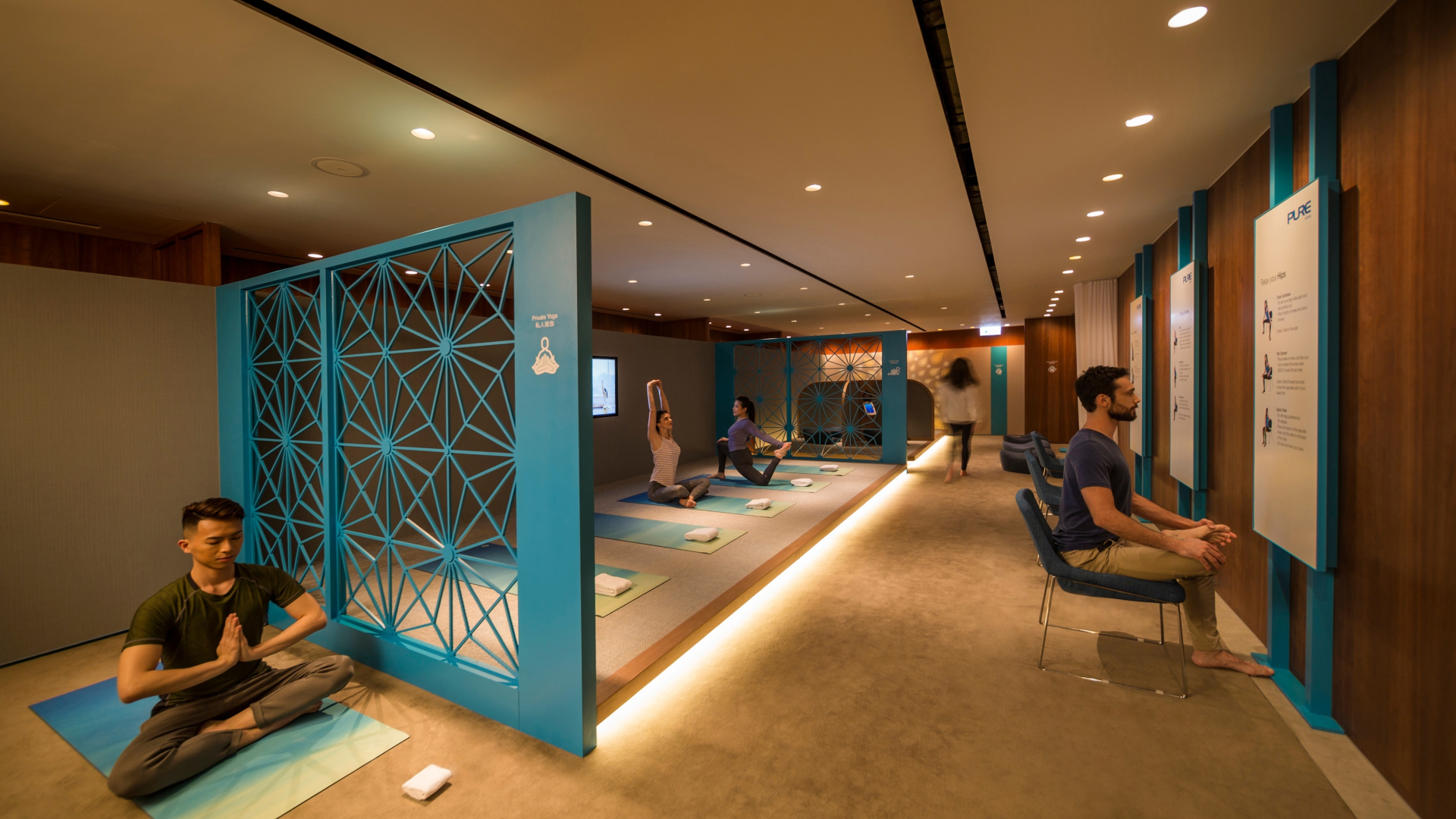 The Sanctuary by Pure Yoga x Cathay Pacific