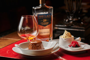 Mortlach 20-Year-Old (Cowie's Blue Seal) x Sticky date pudding